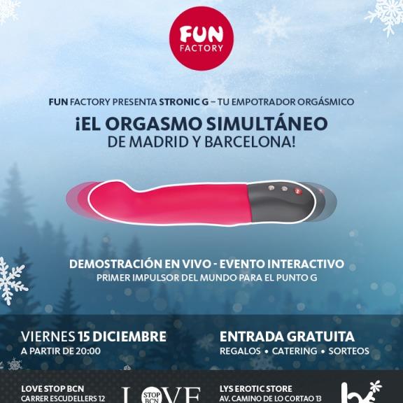Presentación mundial del primer impulsador de Fun Factory en LOVESTOP BCN